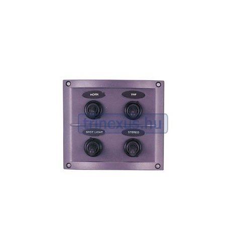 Kapcsolótábla 4 egységes 108 x 95 mm EVA
