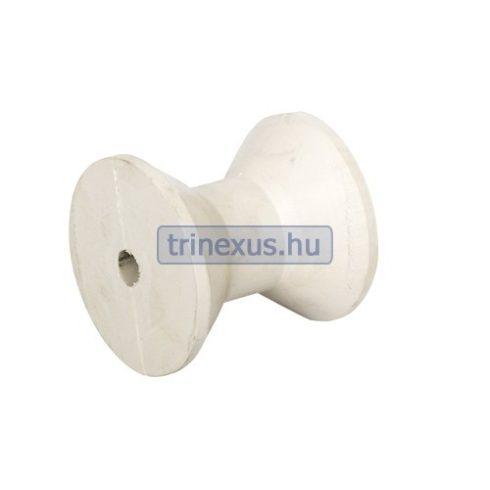 Trailer orrgörgő fehér szögletes 78x75 mm EVA