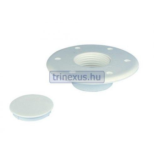 Asztalrögzítő talp fehér műag 10 mm EVA