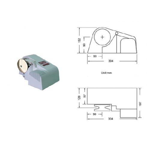 Elektromos horgonycsörlő vízszintes 1100 W EVA
