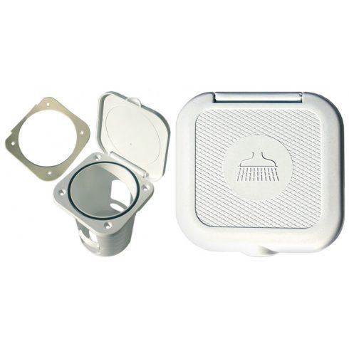 Zuhanytartó doboz 95x95 mm GFN