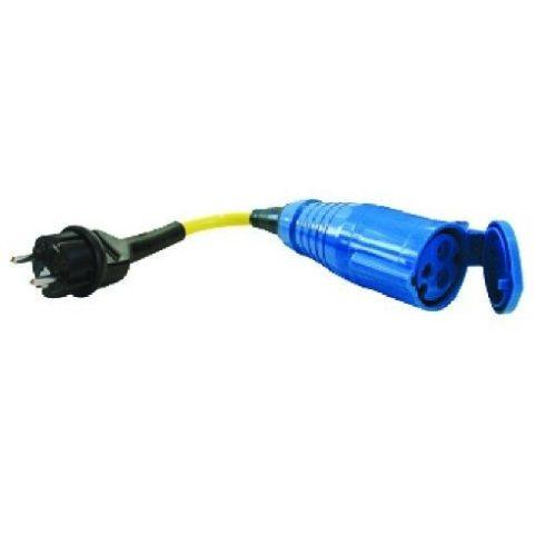 Parti áram adapter dug alj  230 V / 32 A EVA