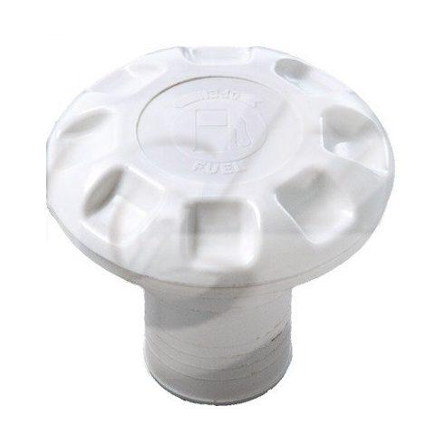 Üzemanyag betöltő fedéllel fehér műag GFN