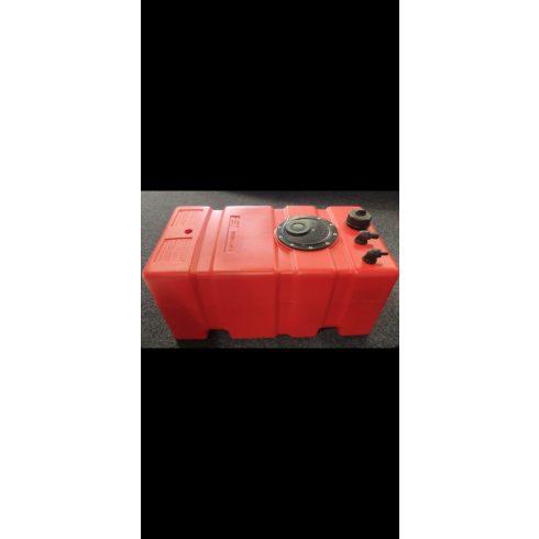 Üzemanyag tank beépíthető 75 l 80x35x30+5 cm GFN