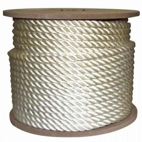 Kötél sodrott PE 6 mm fehér CH