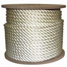 Kötél sodrott PE 10 mm fehér CH