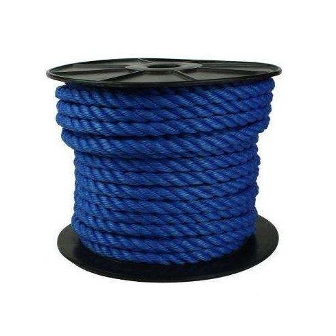 Kötél sodrott PE 12 mm sötétkék CH