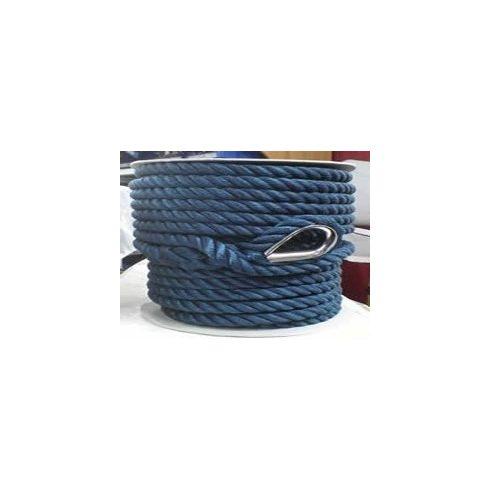 Kikötő kötél PE sodrott kötélszív 35 m skék CH