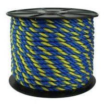 Kötél PP sárga-sötétkék 4 mm CH