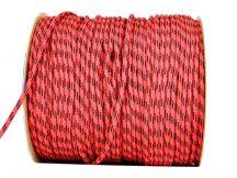 Kötél PP piros-fekete 8 mm CH