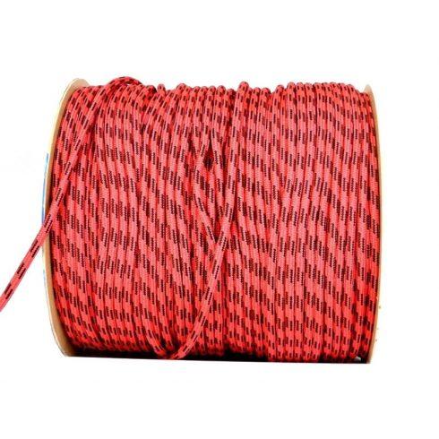 Kötél PP piros-fekete 10 mm CH