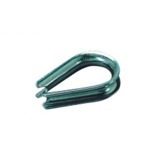 Kötélszív galvanizált 6 mm EVA