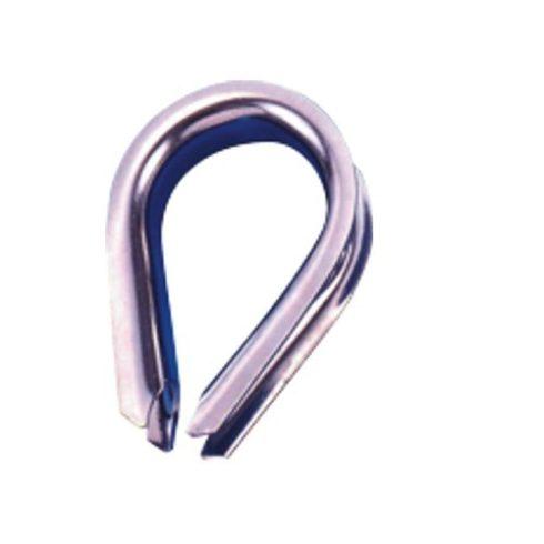 Kötélszív inox 18 mm EVA