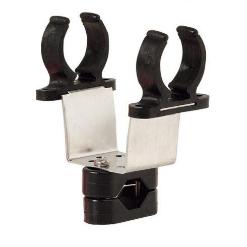Csáklyatartó korlátra inox 22-25mm EVA