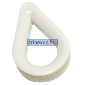 Kötélszív műanyag 8 mm EVA