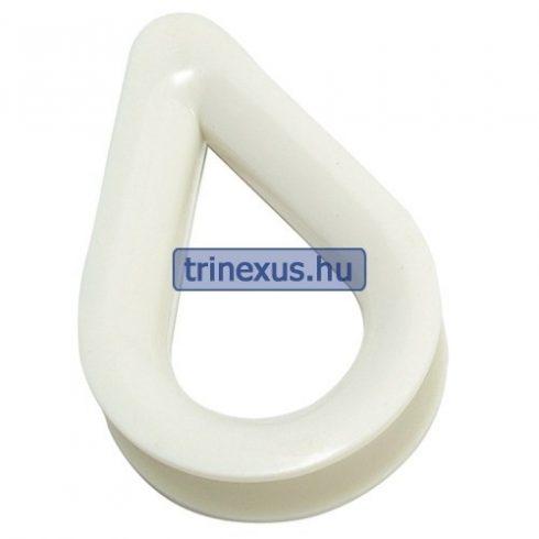 Kötélszív műanyag 10 mm EVA