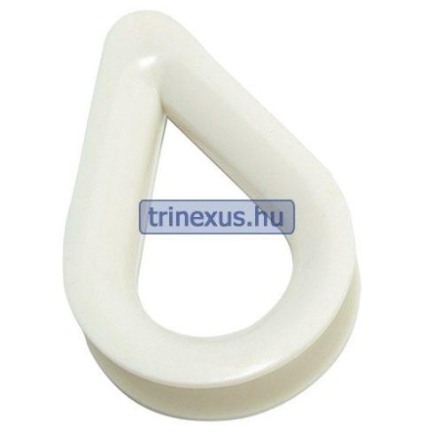 Kötélszív műanyag 12 mm EVA