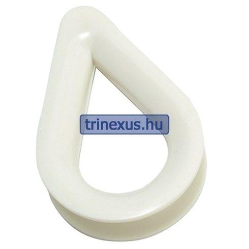 Kötélszív műanyag 14 mm EVA