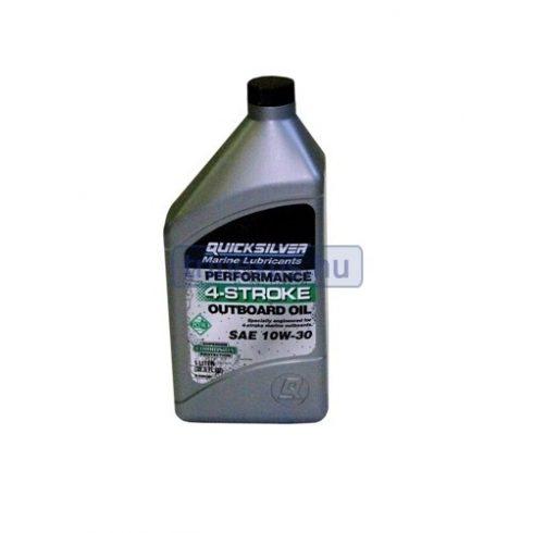 Quicksilver 10W-30 olaj 1 gallon EVA
