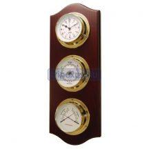 Baro,termo,hygrométer és óra szettben szerelve