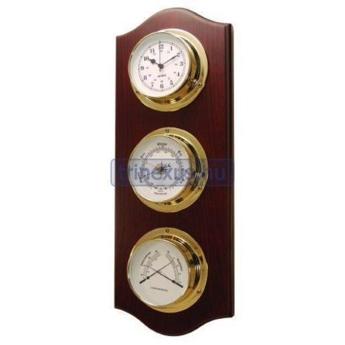 Baro,termo,hygrométer és óra szettben szerelve EVA