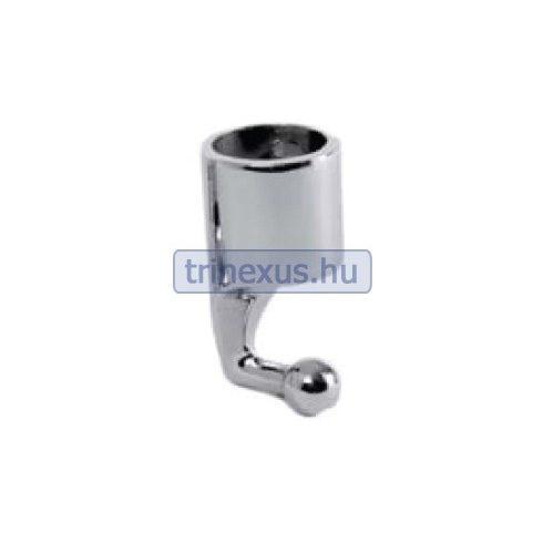 Bimini tartó fém hüvely gömbvéggel 90 fok 25 mm EVA