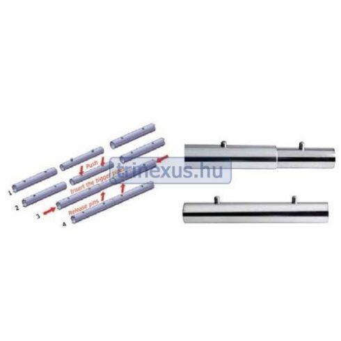 Korlátcső összekötő idom 25 mm-hez 15 cm EVA