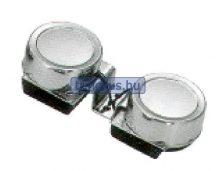 Kürt elektromos dupla kerek inox 100 dB EVA