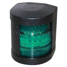 Fény LED zöld 112,5° fekete házban DAW