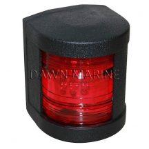 Fény LED piros 112,5° fekete házban DAW