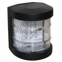 Fény LED fehér 225° fekete házban DAW