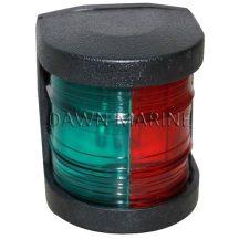 Fény LED zöld-piros 225° fekete házban DAW