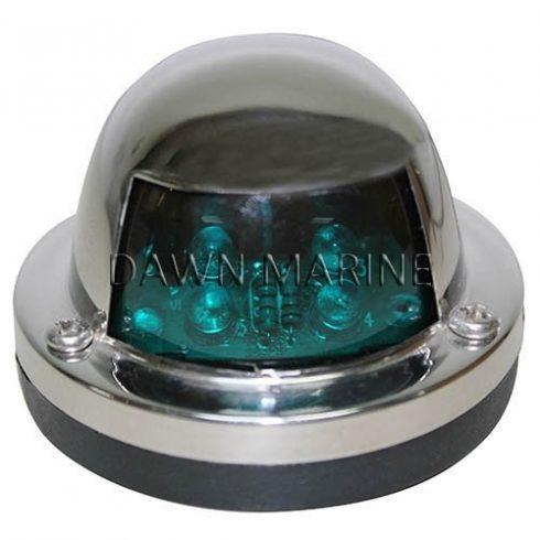 Fény LED zöld 112,5° inox DAW