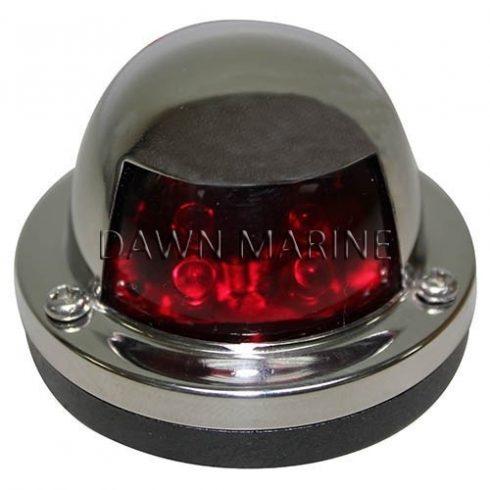 Fény LED piros112,5° inox DAW