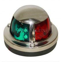 Fény LED zöld-piros 225° inox DAW