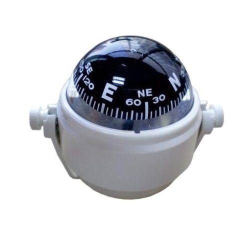 Kompasz kengyelben fehér Optronics 86 mm EVA