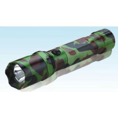 Lámpa kézi LED tölthető terepszínű EVA