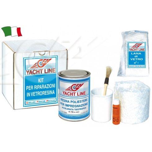 Üvegszál javító készlet 375 ml GFN