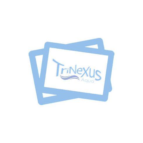 Sebességmérő KUS 55 MPH inox-fehér EVA