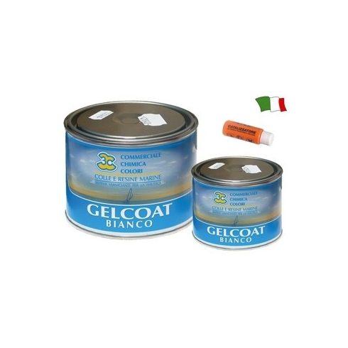 Gelcoat fehér edzővel 0,5 kg GFN