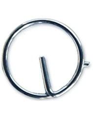 Rögzítőgyűrű inox 10db/11 mm