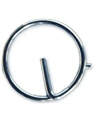 Rögzítőgyűrű inox 10 db/15 mm
