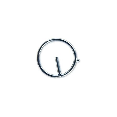 Rögzítőgyűrű inox 10 db/15 mm ALL