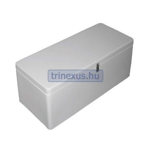 Gumicsónak ülés tárolóval fehér 58x38,5x35,5 cm EVA