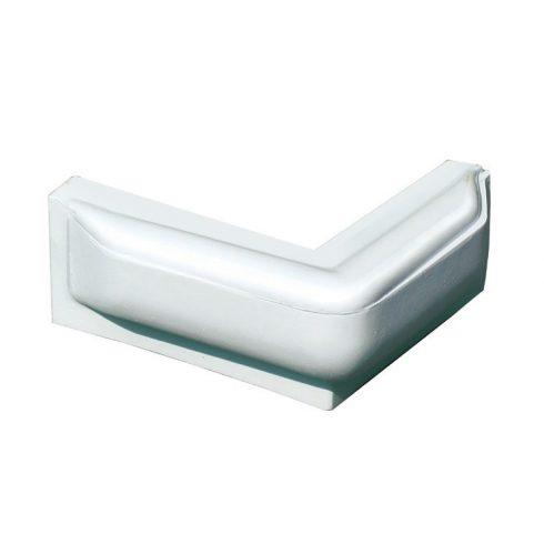 Dockfender sarokra peremes 25x25x10 cm fehér GFN