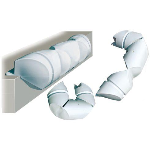 Dockfender peremes hajlítható 100x20 cm fehér GFN