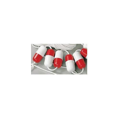 Bója sáv kijelölő piros-fehér 14 cm GFN