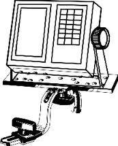 Tite Lok halradar monitortartó lapos rögzíthető