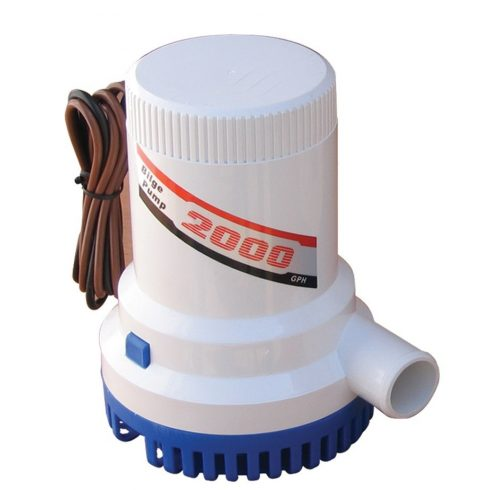 Fenékvíz szivattyú Gibsy 2000 GPH 24V GFN