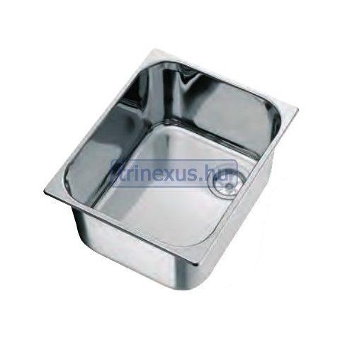 Mosogató inox 330x260 mm ALL